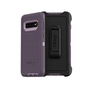 Otterbox Defender Purple Nebula Galaxy S10 Case